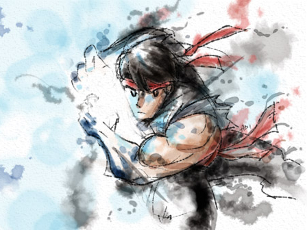 Water Colour Ryu