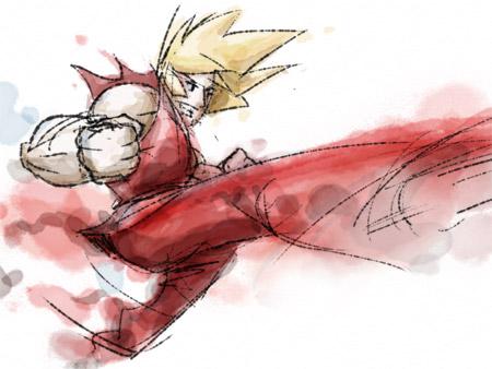 Ken Spinning Kick